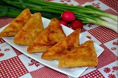 Треугольнички из лаваша, рецепты с фото