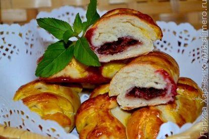 Пирожки с ягодами, рецепты с фото