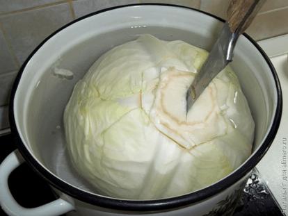 Голубцы с мясом и рисом, рецепты с фото