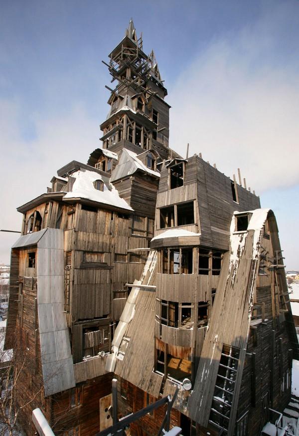 10 крутых домов, которые строили безумцы