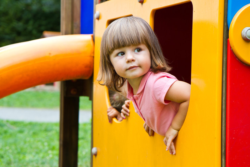 Как увести малыша с детской площадки домой без слёз