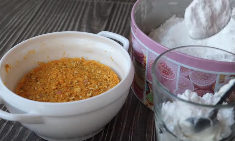 Овсянка в духовке: пирог в кружке за 5 минут