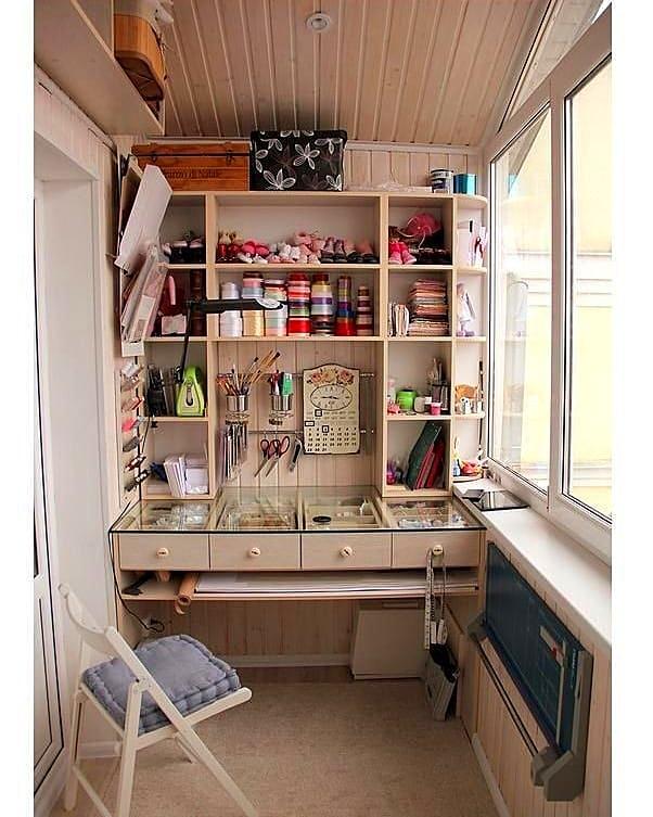 Швейные балкончики: идеи