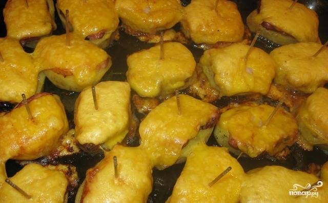 Лодочки из картофеля — пошаговый рецепт с фото на