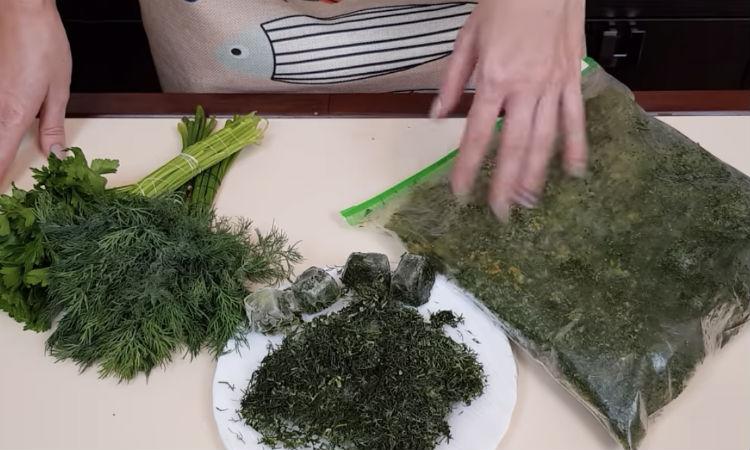 Замораживаем разные овощи на зиму: лежат долго и не сохнут