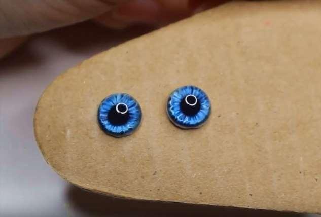 Как сделать живые глаза для игрушек без пузырей