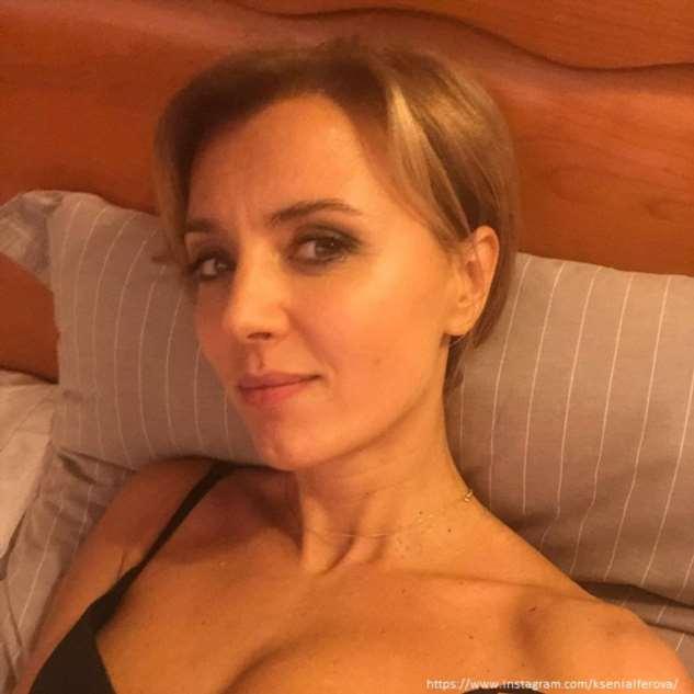 Ксения Алферова показала шикарную фигуру в купальнике