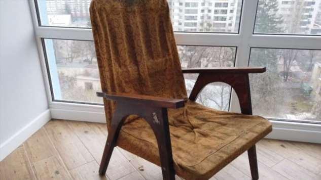 Реставрация советского кресла