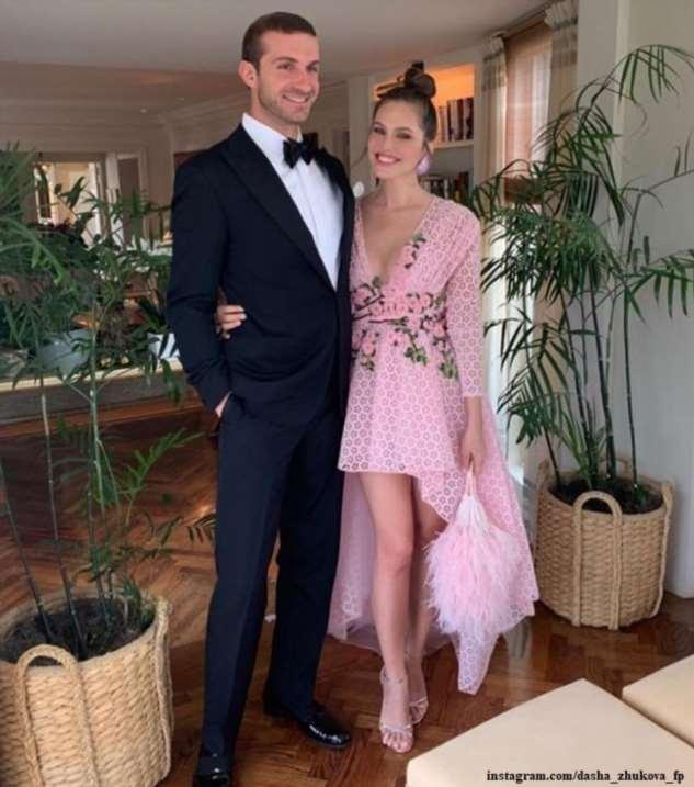 В Швейцарии состоялась свадьба Дарьи Жуковой с греческим миллионером