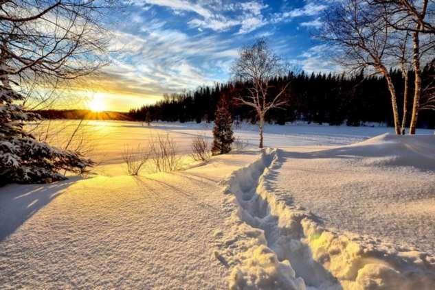 Как Нина нашла свое счастье в снегу