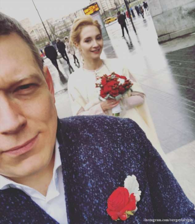Мария Луговая вышла замуж за Сергея Лавыгина