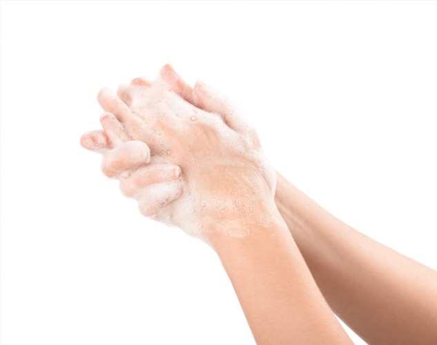 Мыло не убивает микробы и бактерии