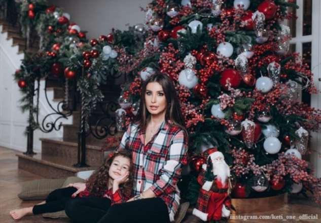 Кети Топурия проводит новогодние каникулы в Куршевеле с новым возлюбленным