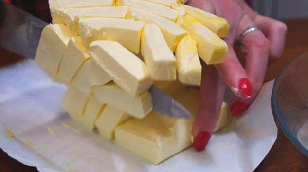 Блюда со сливочным маслом