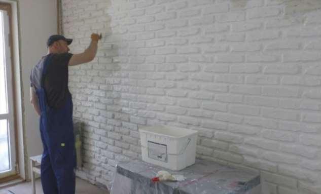 Кирпичные стены за 100 рублей