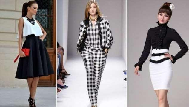 Белое с черным – не скучно: 9 стильных сочетаний в одежде