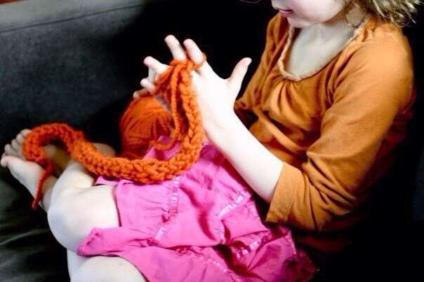 Вязание на руках