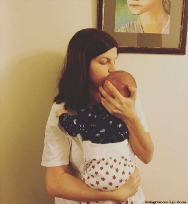 Агния Кузнецова поделилась фото с крещения  сына