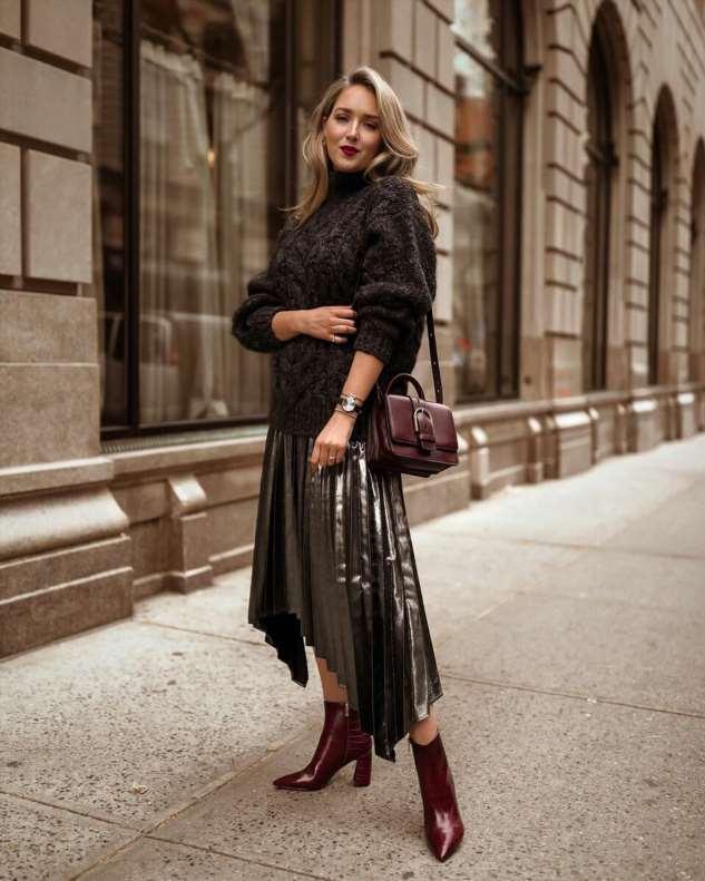 Асимметричная юбка: 20+ стильных моделей и цветовых решений