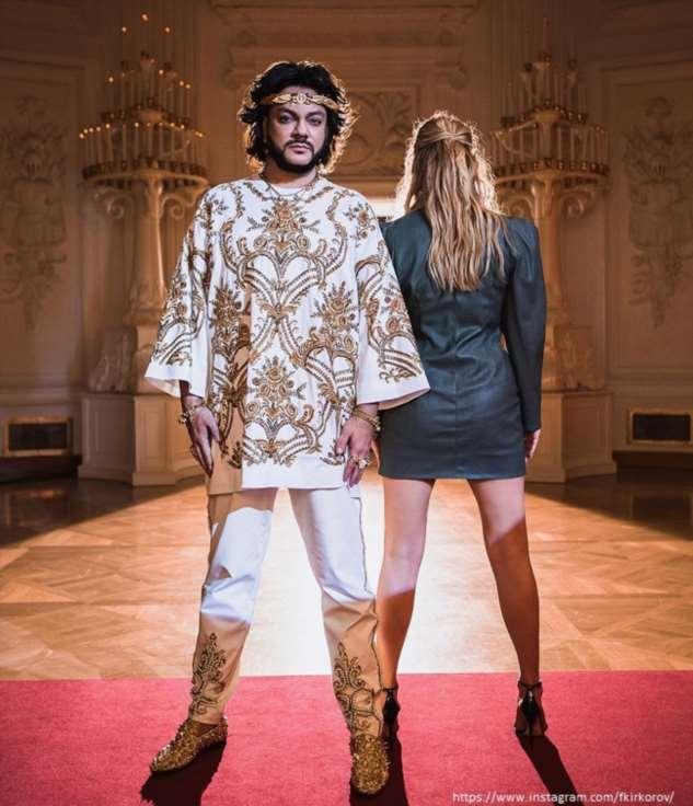 Филипп Киркоров потратил десятки миллионов на наряды для клипа