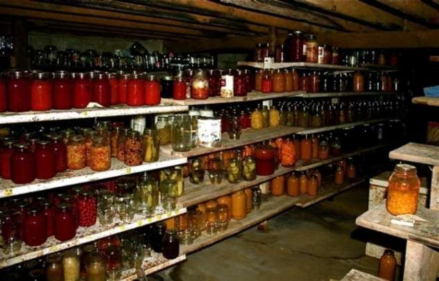 Как долго могут храниться домашние заготовки овощей и фруктов .