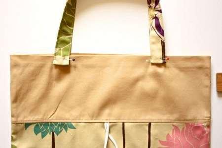 Складная хозяйственная сумка своими руками