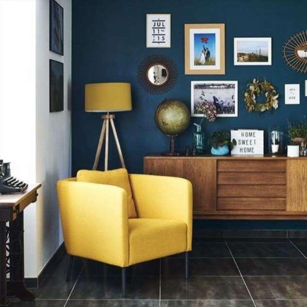 Желтый цвет в интерьере: 5 идей