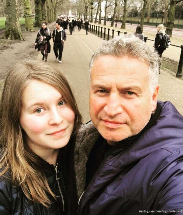 Леонид Агутин показал старшую дочь в день ее рождения