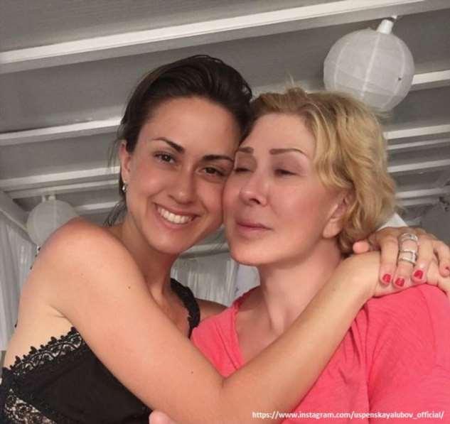 Дочь Любови Успенской заявила, что мамины ухажеры приставали к ней