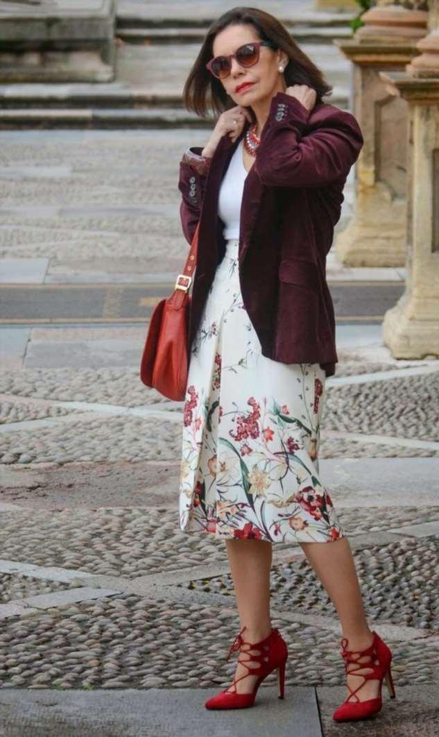 Итальянская элегантность на конкреных примерах. Образы для женщин 50+