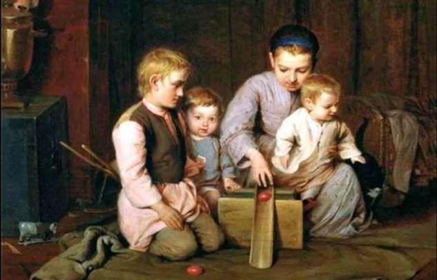 Что умели делать крестьянские дети в старину: Взрослые обязанности и недетский труд