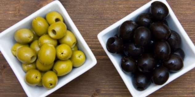 Какая разница между черными и зелеными оливками