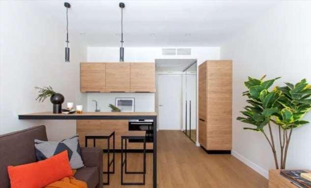 Уютная квартира на 20 квадратах со всем необходимым и даже больше