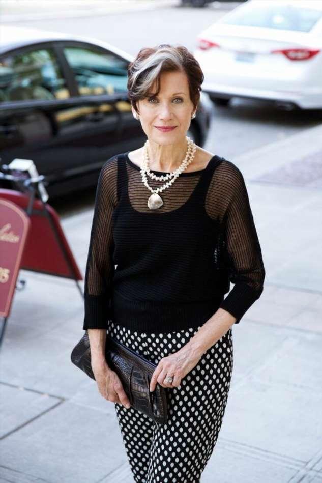 Простой и элегантный Французский стиль в одежде для дам 50+. Фото стильных образов