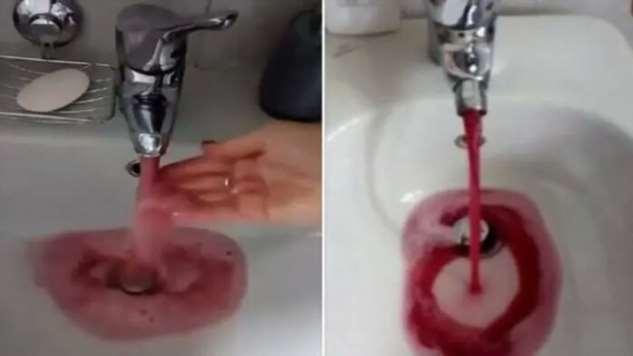 ВИталии изкранов вместо воды потекло вино