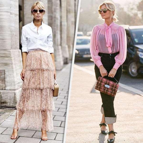 Тренд — прозрачность: как сочетать и с чем его носить женщинам 35+