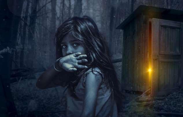 В детстве я дружила с призраком, а недавно поняла, что он всё ещё рядом