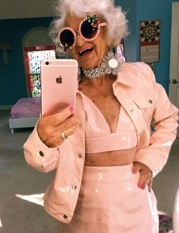 Никогда бы не подумала, что бабушка может мечтать о таком !