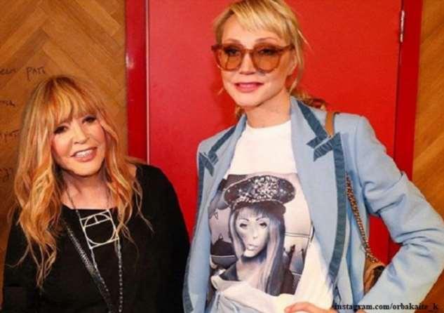 Кристина Орбакайте с дочерью спели для Аллы Пугачевой в день ее рождения