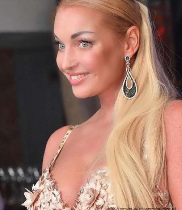 Анастасия Волочкова заказала свадебное платье почти за двадцать миллионов