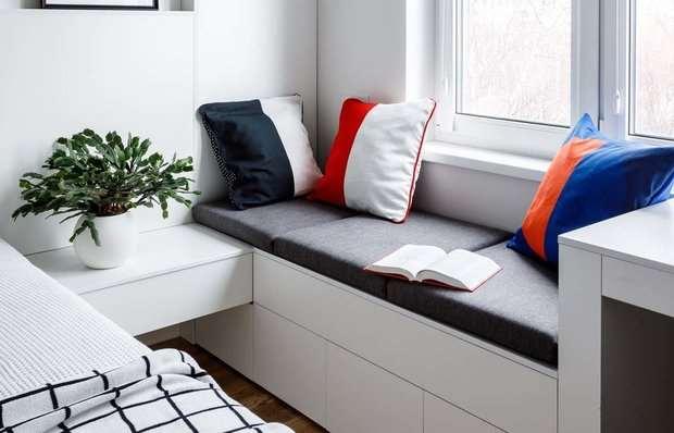 Где уединиться дома: идеи для зоны отдыха на подоконнике