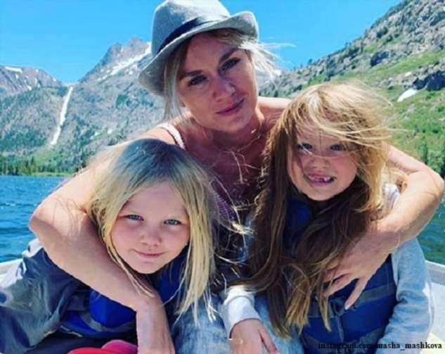 Мария Машкова воссоединилась с семьей в США