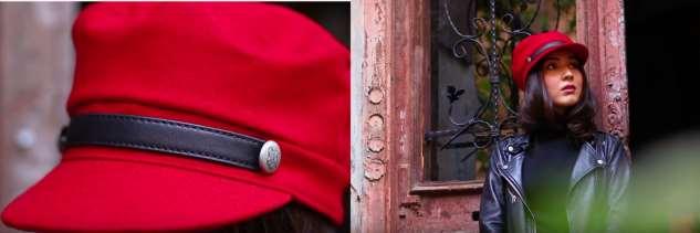 Модное красивое кепи, с выкройкой справится даже новичок