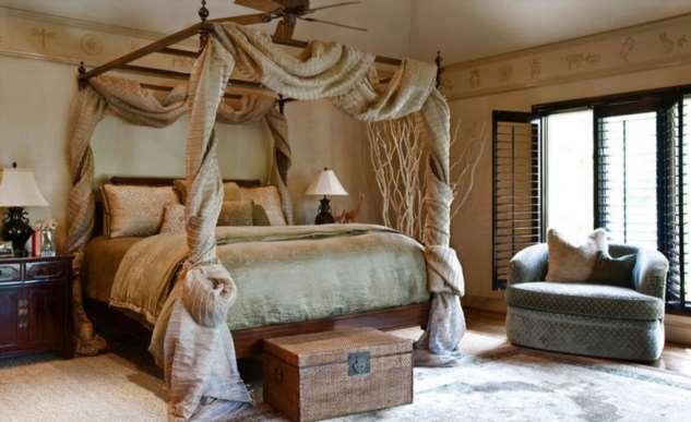 Как оформить кровать? Забытые интересные способы