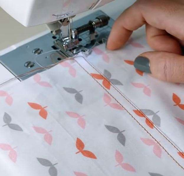 Ровная отстрочка на швейной машине. Мастер-класс