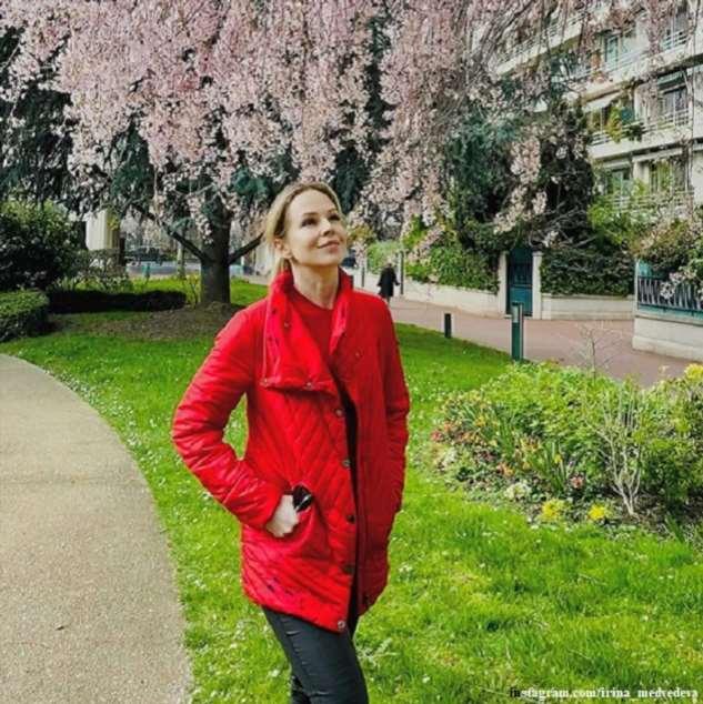 Ирина Медведева улетела  в охваченную эпидемией Францию ради воссоединения с мужем
