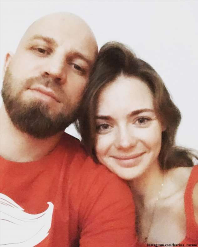 Карина Разумовская, благодаря самоизоляции, увидела первые шаги сына
