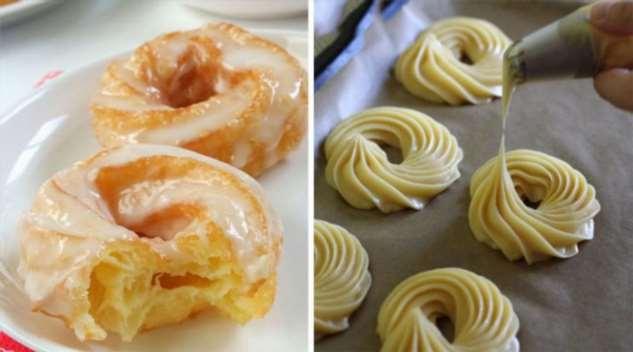 Рецепт воздушного десерта из заварного теста с нежнейшим кремом