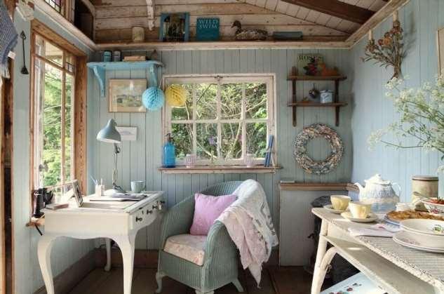 Прованс на даче: уютный интерьер за минимум денег!