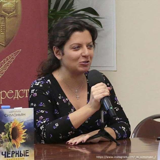 Маргарита Симоньян едва не родила в администрации президента